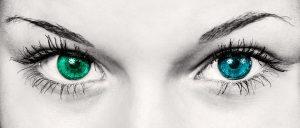 yeux différents