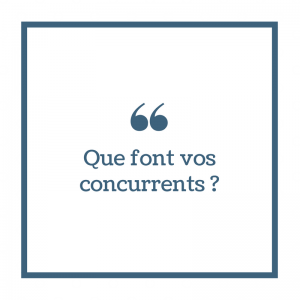 Analyse Concurrence