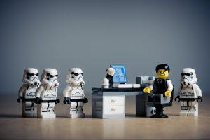 Bureau Lego